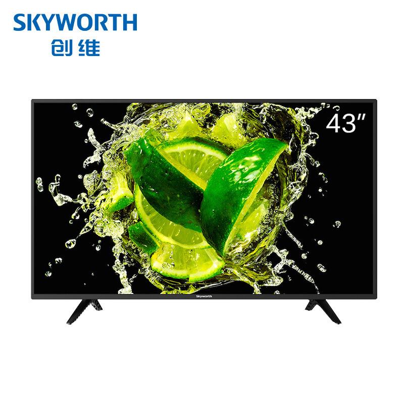 SKYWORTH Tivi LCD 43X6 43 Inch 10 lõi Full HD Mạng thông minh WIFI TV LCD phẳng (Đen)