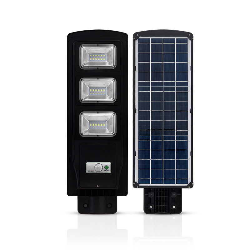 Đèn led chiếu sáng mặt đường dùng năng lượng mặt trời
