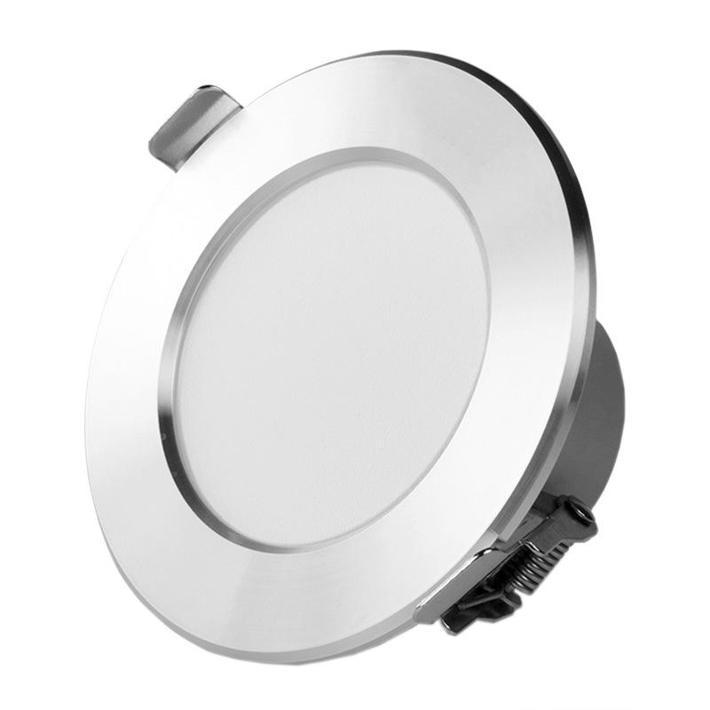 Đèn trần led downlight lỗ 7.5 phòng khách 5w trần spotlight cải thiện nhà downlight đèn tròn nhà sản