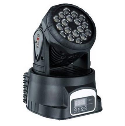 TIANFENG Đèn sân khấu lắc đầu nhuộm đèn 18 * 3W ba trong một đèn LED hiệu ứng thanh sân khấu
