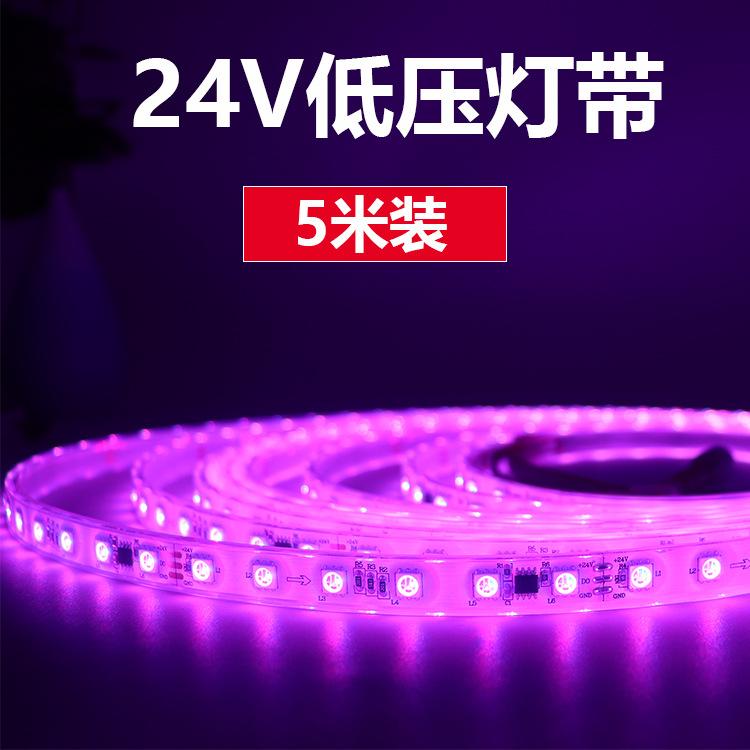 TUORONGXING Đèn LED dây led dải sáng silicone IP68 ngoài trời không thấm nước bên ngoài 60 đèn Symph