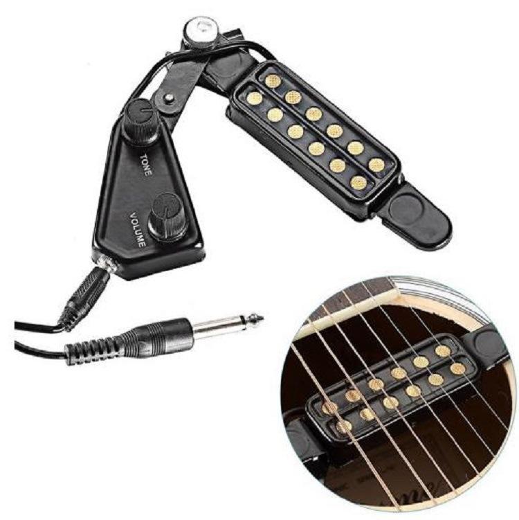 YANSHENG Thiết bị loa Moniter Pickup Guitar Sound Pickup PICKUPS P-011 Pickup Guitar Dân gian