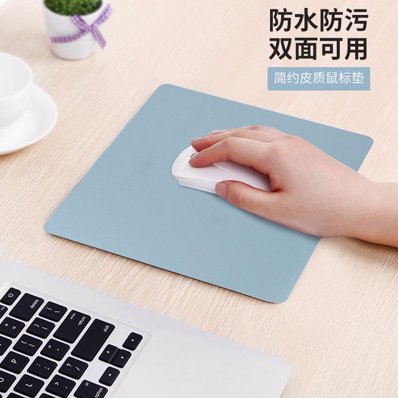 ZHIFAN Thảm lót chuột Đặc biệt PU da chống thấm máy tính chuột pad đơn giản trò chơi văn phòng máy t
