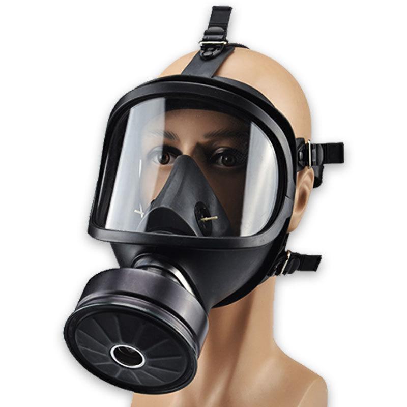 BANGGU Mặt nạ phòng chống khí độc Mặt nạ phòng độc mặt nạ đầy đủ MF14 Bộ lọc tự mồi đầu đeo mặt nạ p