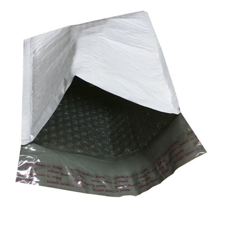 Túi xốp hộp -đùn màng bong bóng màu xám .