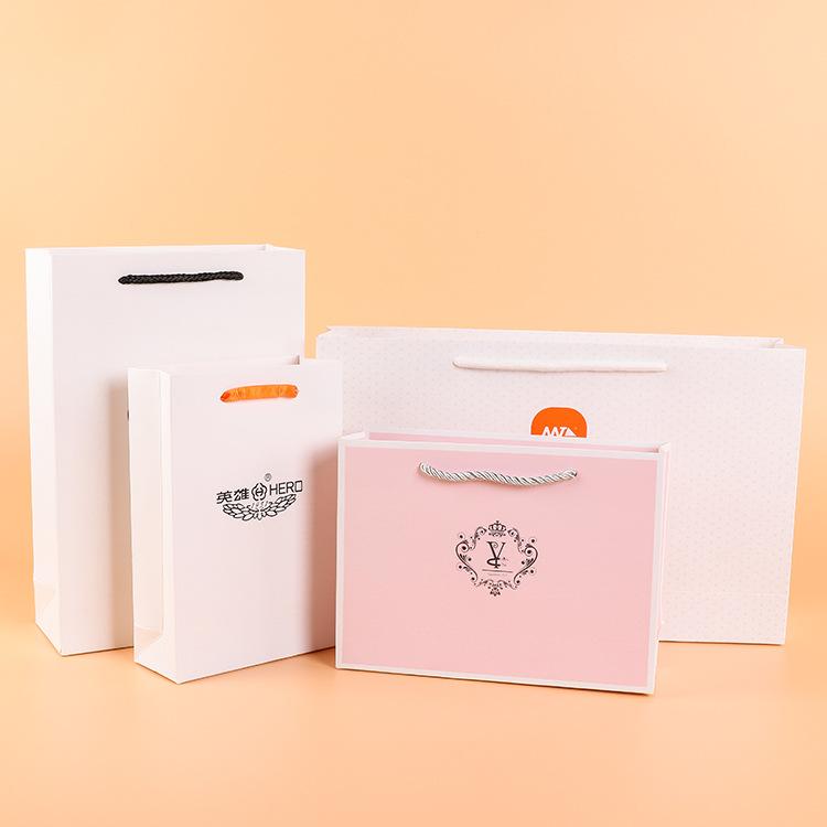RANYU Túi giấy đựng quà Túi giấy tùy chỉnh, túi xách quần áo, túi quà tặng, quảng cáo quà tặng, mua