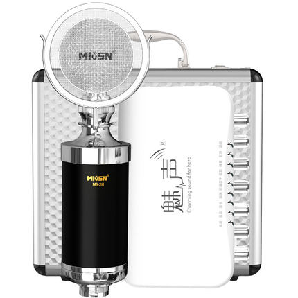 Micro Meisheng T8-2 thiết bị phát sóng trực tiếp đầy đủ
