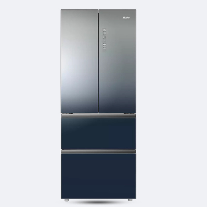 Điện gia dụng chính hãng Tủ lạnh gia dụng bốn cửa Pháp nhiều cửa khô và ướt bảo quản lạnh không có s