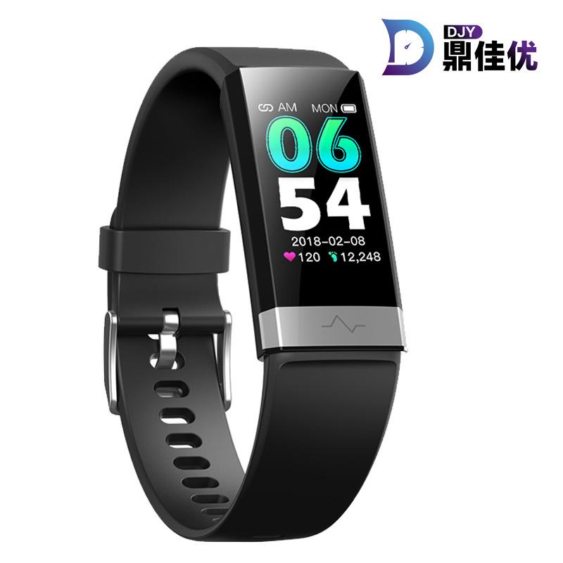 Vòng đeo tay thông minh V19 ECG SpO2 Vòng đeo tay Bluetooth Vòng quay khác nhau Thời trang Vòng đeo