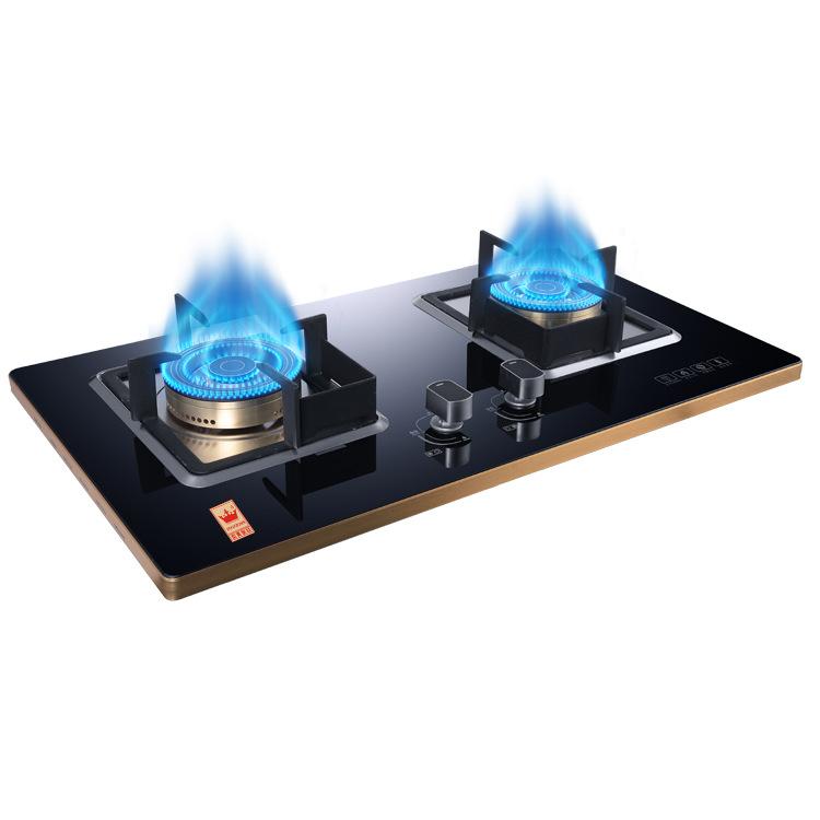 Bếp gas lửa nhúng Bếp đôi để bàn .