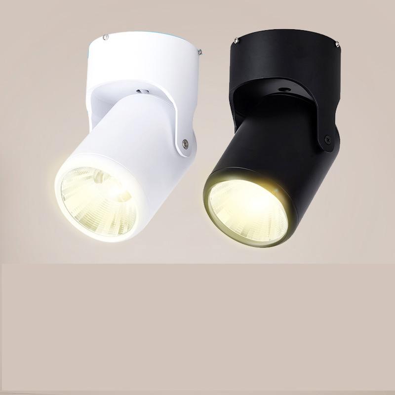 Đèn rọi Spotlight gắn hành lang hiện đại tối giản 3w12w .