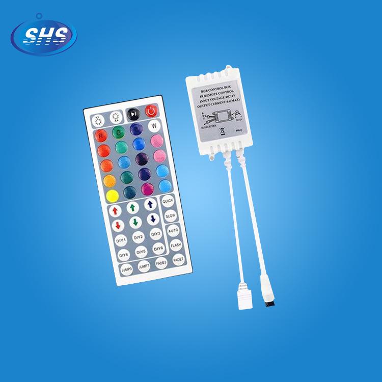 Thiết bị điều khiển đèn Nhà máy trực tiếp bán bộ điều khiển dải ánh sáng LEDRGB Bộ điều khiển đèn đầ