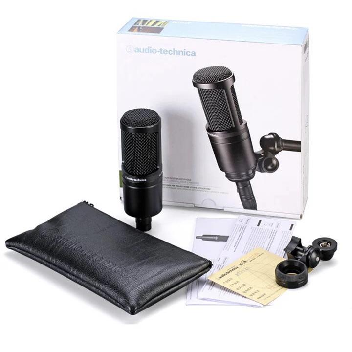 Micro Audio-Technica AT2020 ghi âm trực tiếp .