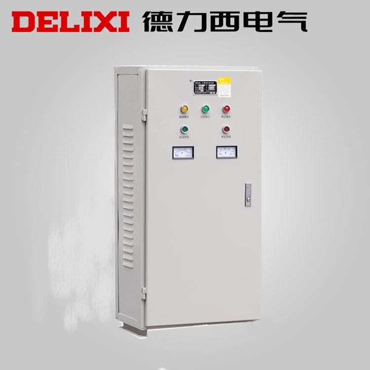 Delixi Bộ khởi động động cơ Tự động giải nén Starter Starter Tủ khởi động Hộp XJD1-135KW 380V Starte