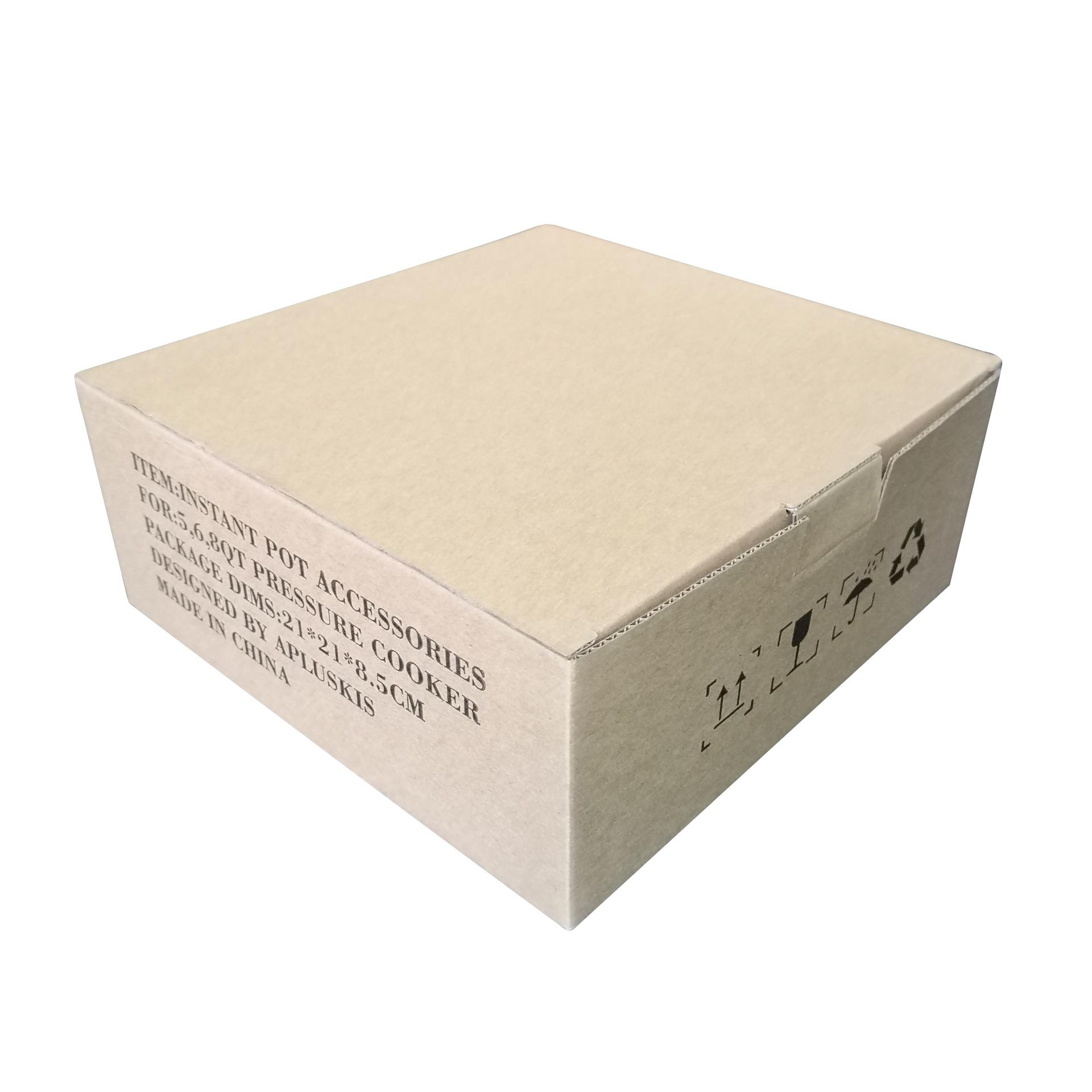 Thùng giấy đóng gói Hộp bia E Hang với kích thước in 21 * 21 * 8,5cm