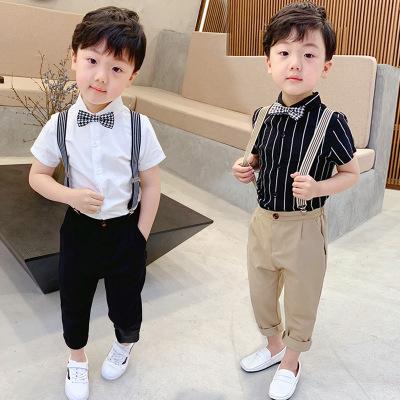 Đồ Suits trẻ em Xuân / Hè 2019 Trang phục biểu diễn ngày của trẻ em Dây đeo phù hợp với trẻ em Trang