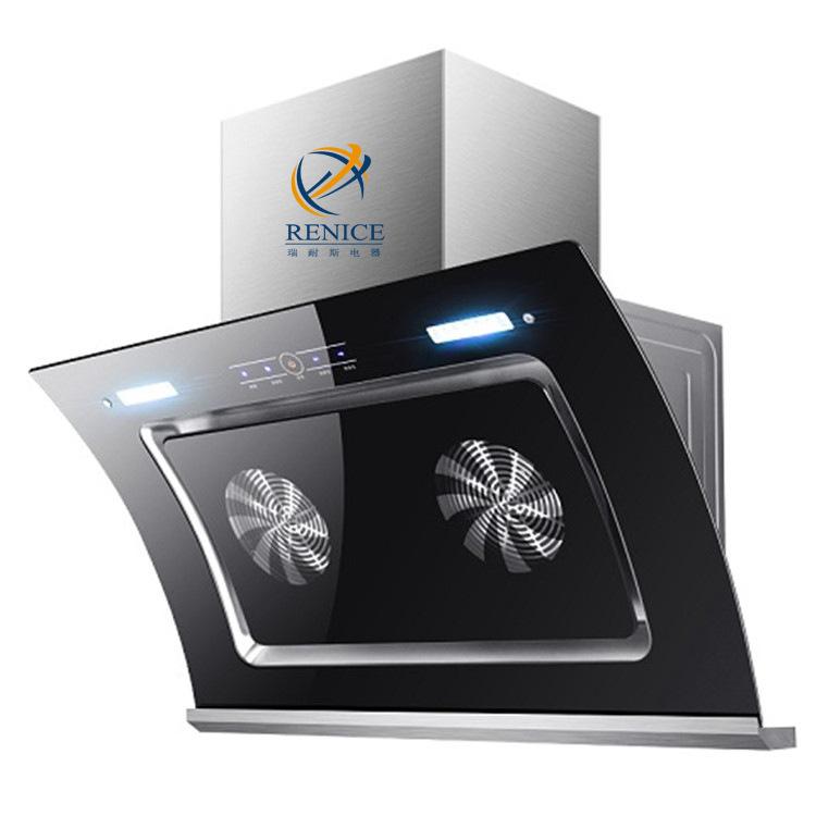 Máy hút khói khử mùi hút động cơ kép cho nhà bếp .