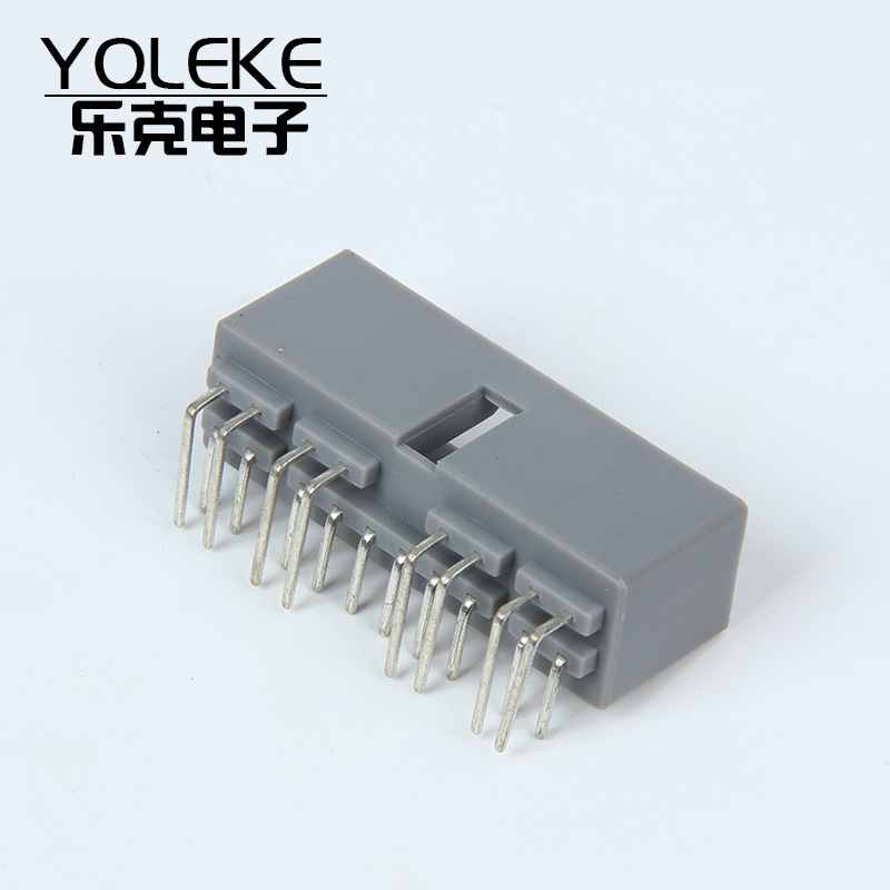 YQLEKE Giắc nối Đầu nối đầu nối ô tô vỏ bọc DJ7181A-2..3-10AW Đầu nối bảng hàn 18 lỗ pin