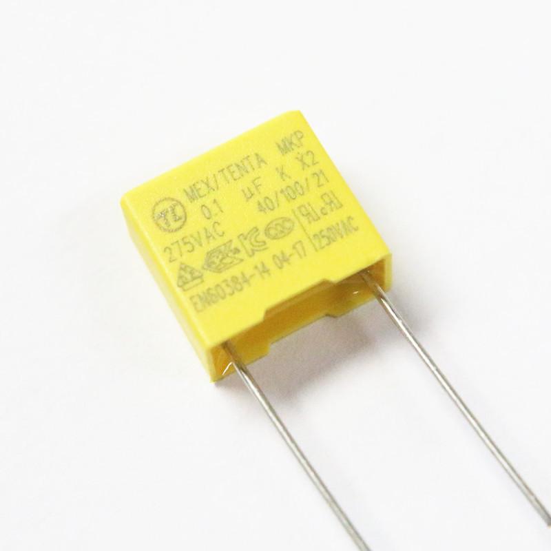 LSKDZ Tụ điện X2 tụ điện an toàn 104K275V Bộ chuyển đổi nguồn 0,1UF275V khoảng cách chân chuyên dụng