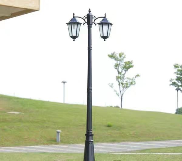 Đèn LED sân vườn Đèn sân vườn phong cách châu Âu 3 mét ngoài trời không thấm nước cộng đồng đèn đườn