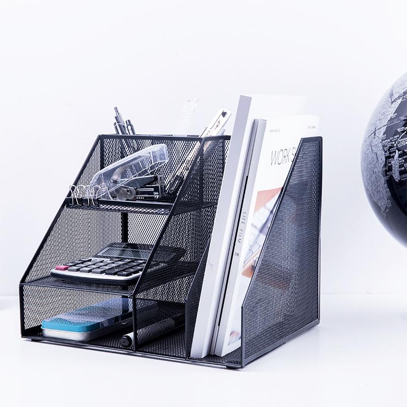 Kệ lưu trữ hồ sơ bằng lưới sắt nhiều ngăn .