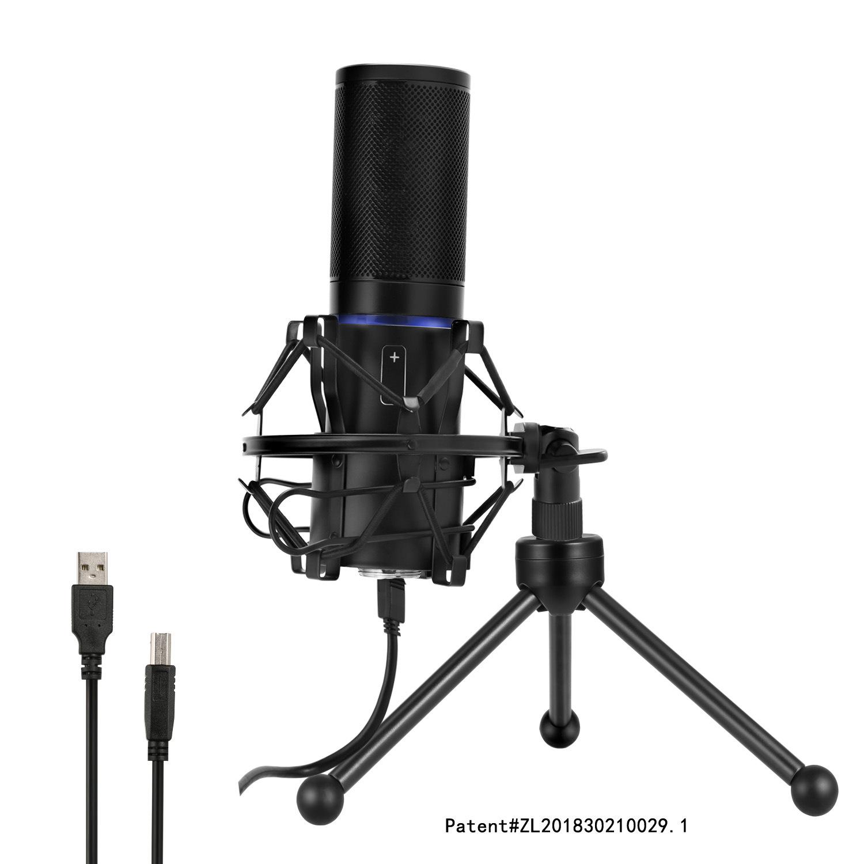 Micro Q9 neo USB ghi âm phát sóng trực tiếp chuyên dụng