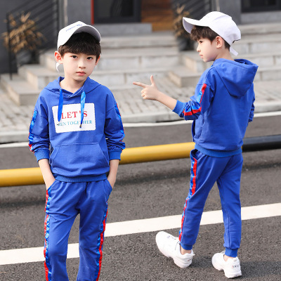 FEIFEIHU Đồ Suits trẻ em Quần áo trẻ em rõ ràng phù hợp với quần áo trẻ em mùa xuân và mùa thu 2019