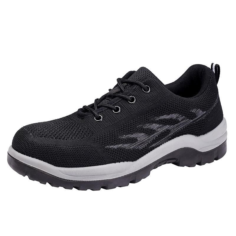 Giày bảo hộ thoáng khí và thoải mái chống va đập .