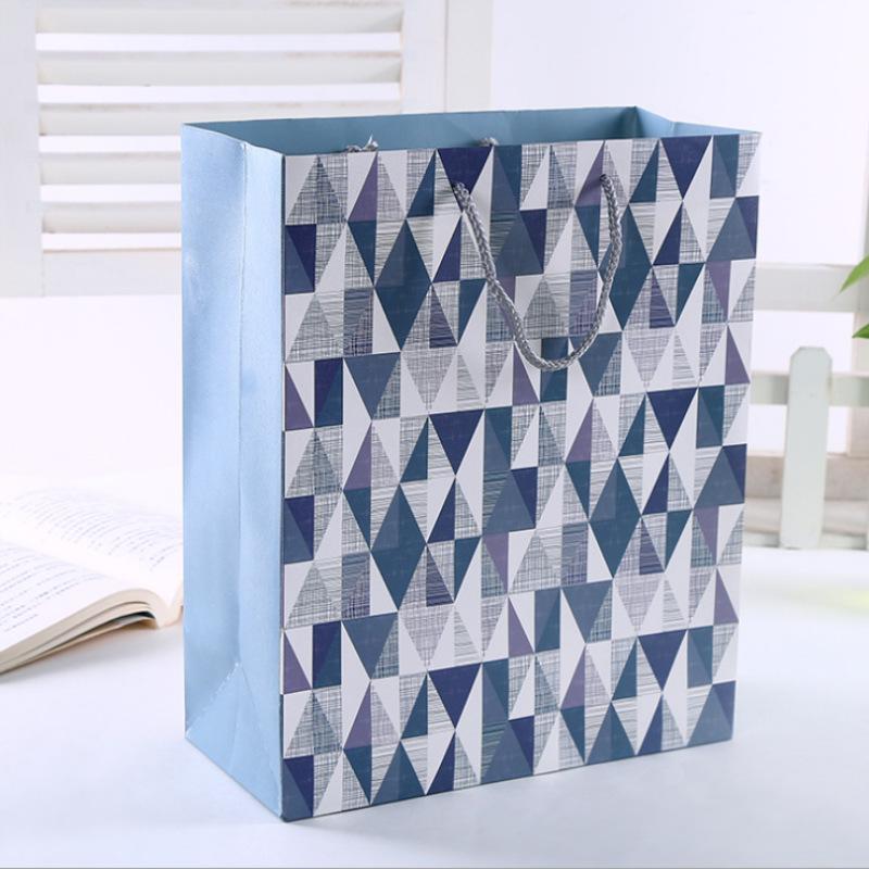 Túi giấy Cao cấp túi tote trắng túi tùy chỉnh quà tặng quần áo túi giấy tùy chỉnh quảng cáo túi giấy