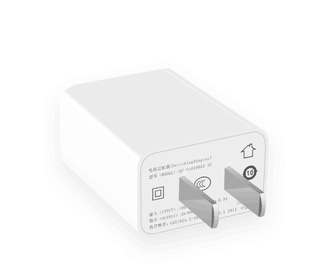 Đầu sạc nhanh USB Bộ chuyển đổi điện 5v2a tiêu chuẩn điện thoại di động