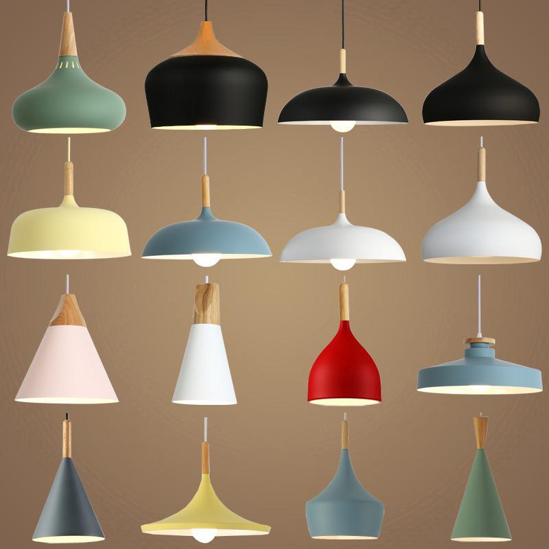 Đèn chùm treo trần kiểu Bắc Âu sáng tạo cá tính hiện đại .