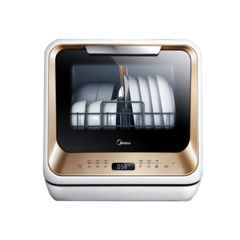 Midea Máy rửa chén Midea m1 hộ gia đình tự động sấy khô máy rửa chén thông minh mini cài đặt miễn ph