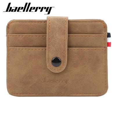 baellerry Ví đựng thẻ baellerry mới thẻ túi nam nhiều chủ thẻ chủ thẻ kinh doanh gói thẻ ngân hàng b