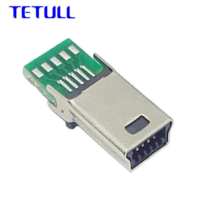 Đầu nối cáp dữ liệu USB mini 10p .