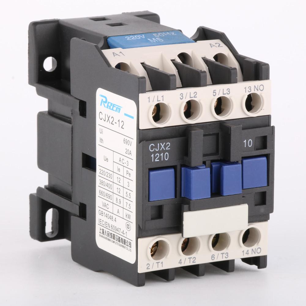 Công tắc tơ cjx2-1210 điểm bạc AC contactor LC1-D12