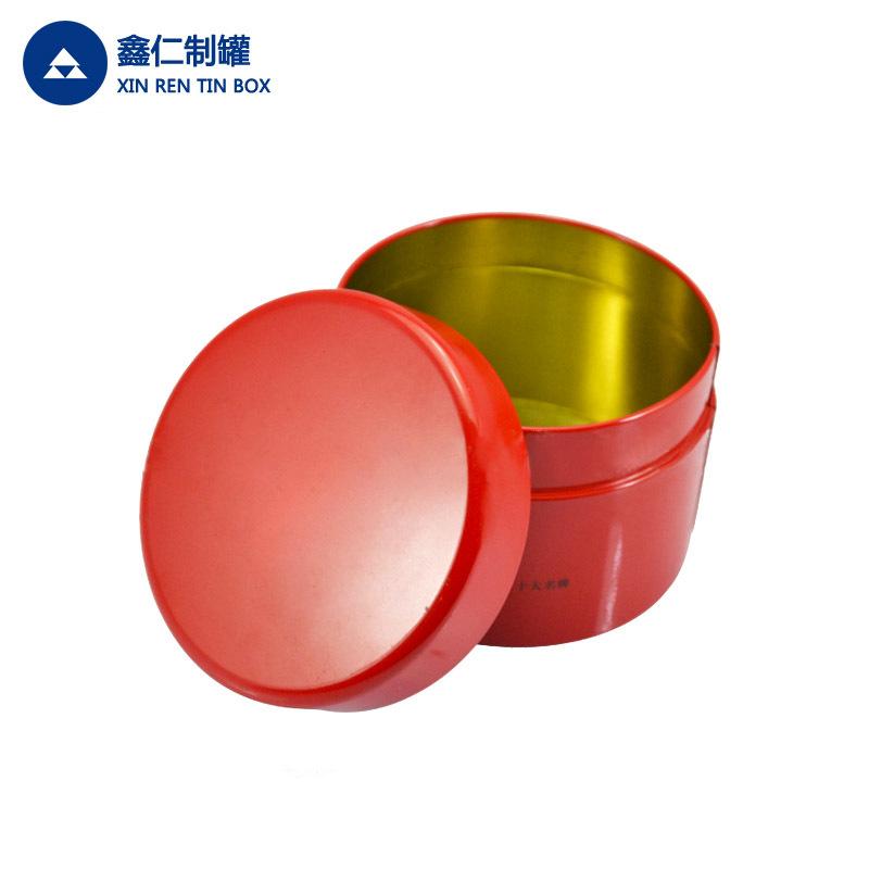XINREN Hũ kim loại Trà tin thiếc có thể tùy chỉnh thực phẩm có thể tròn có thể đóng gói kẹo trà có t