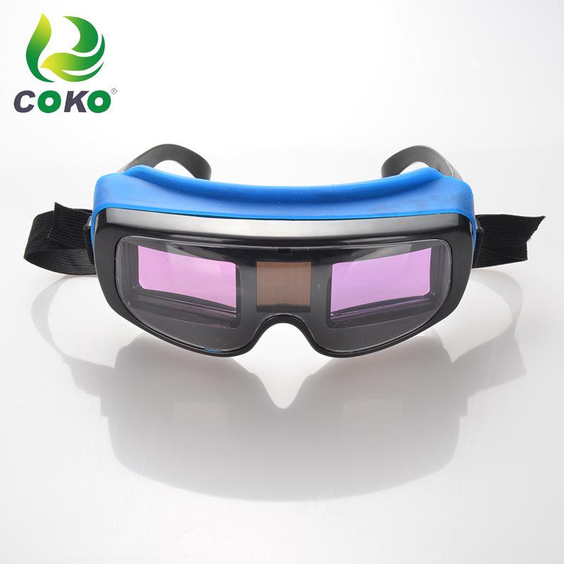 Kính hàn tự động chống chói bức xạ tia cực tím .