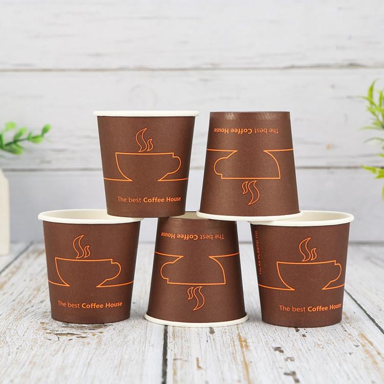 Ly giấy Cốc giấy tùy chỉnh 4 ounce nếm dùng một lần cốc giấy nhỏ tùy chỉnh in logo
