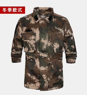 5308 Áo nguỵ trang lính 2019 mới 16 Wudong lửa mùa đông đào tạo áo khoác ngụy trang quần áo áo khoác
