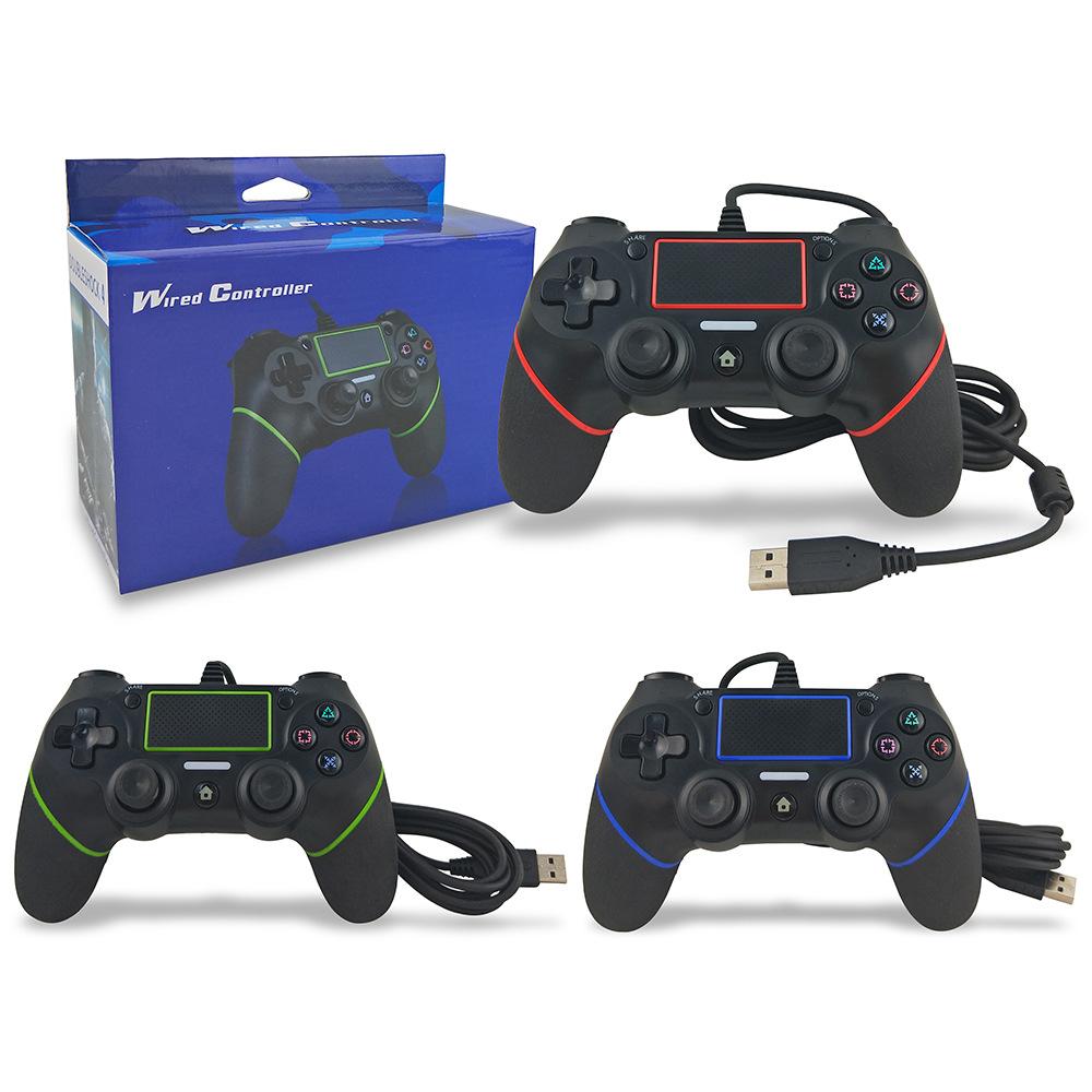 Bộ điều khiển trò chơi có dây PS4 chất lượng ổn định .