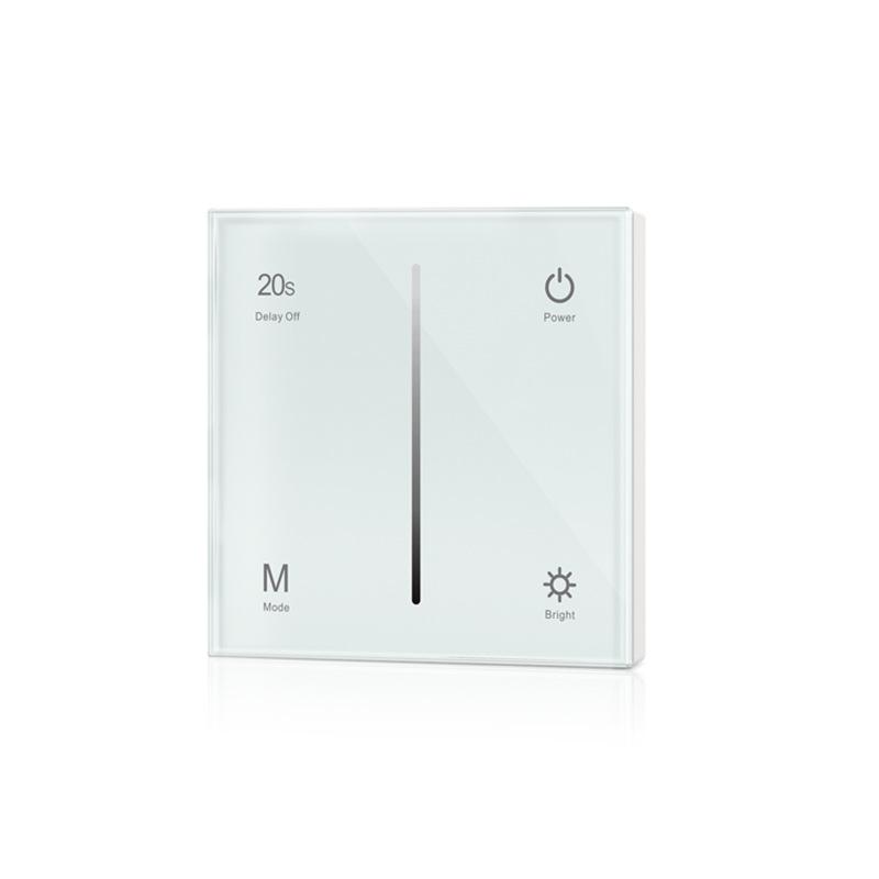 VYEOFAR Công tắc điều chỉnh độ sáng Đèn mờ LED loại 86 bảng điều khiển mờ 0-10V vùng đơn 220 V Bộ đi