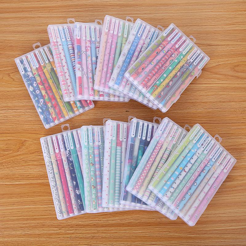 Hộp bút gel nhiều màu sáng tạo cho bé .