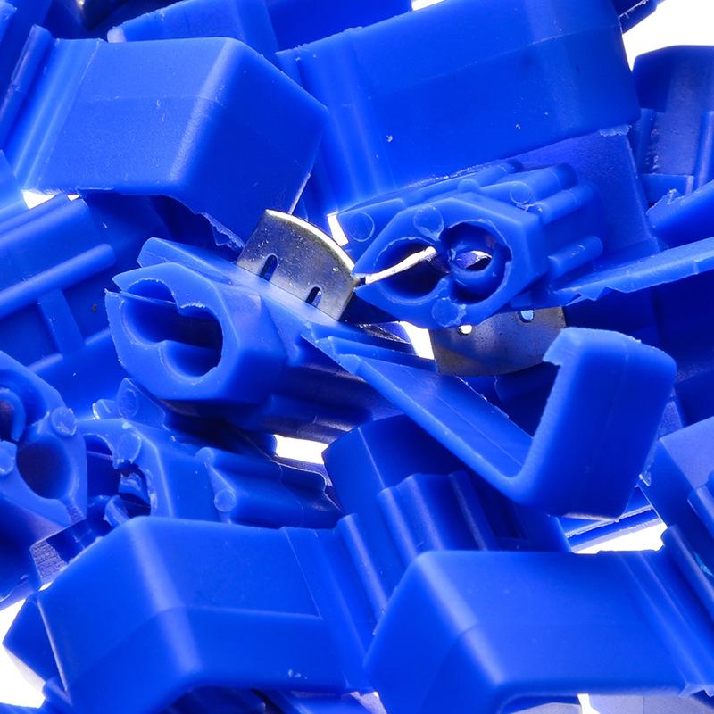 XINRONG Cầu đấu dây Domino Nhà máy bán hàng trực tiếp 100 túi thiết bị đầu cuối kết nối ép lạnh / gó