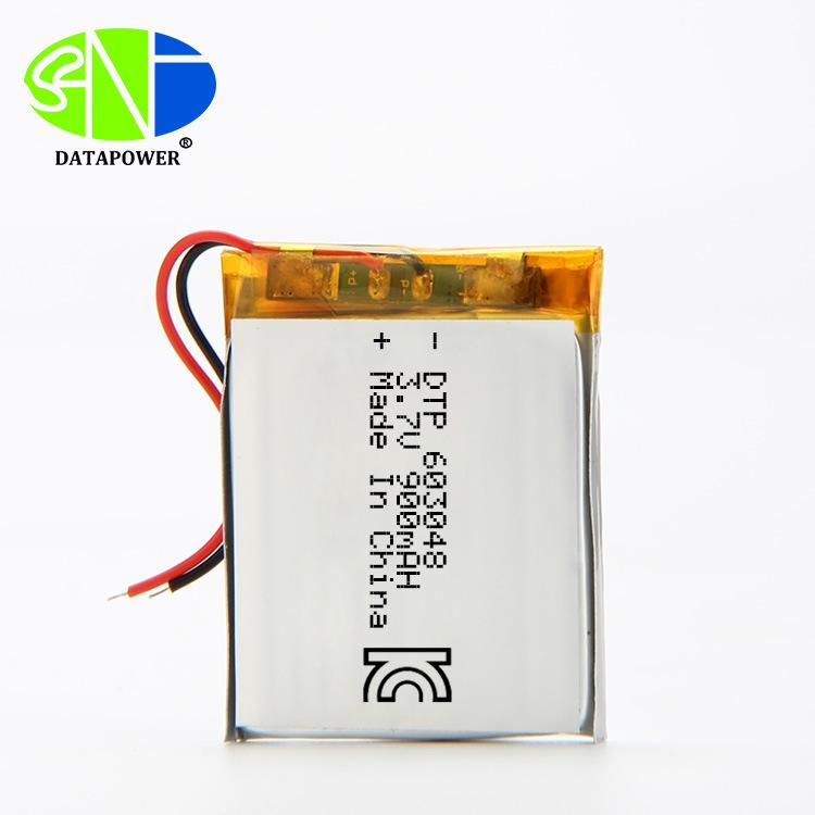 Pin lithium polymer DTP603048 900mah 3.7v , Chứng nhận sản phẩm: MSDS
