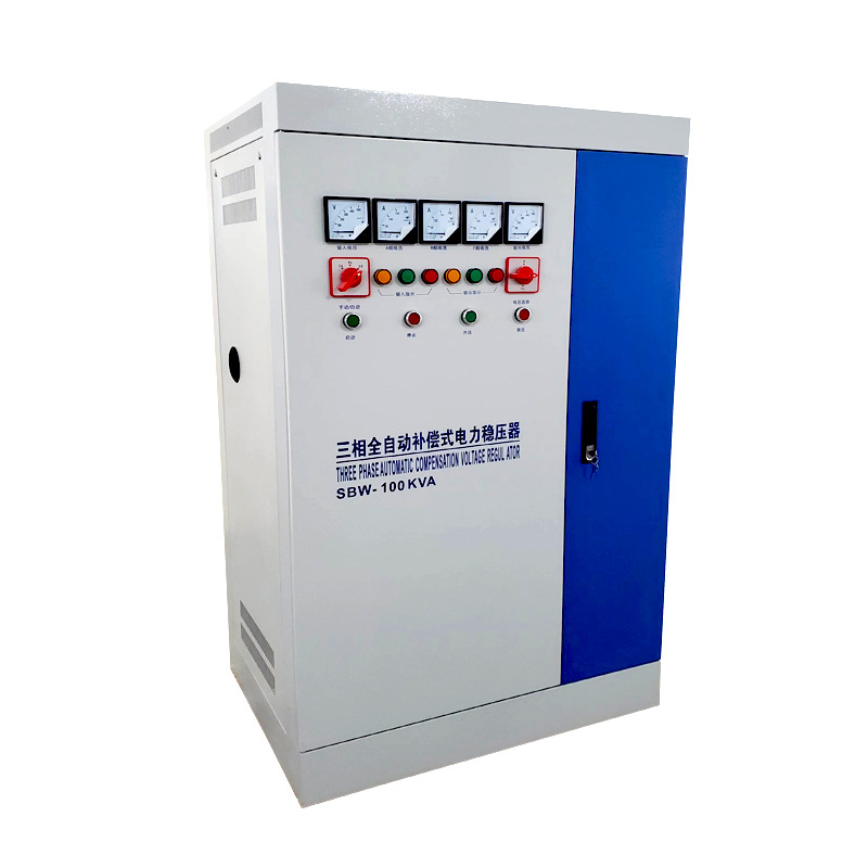 Bộ điều chỉnh ba pha sbw250kw công suất cao .