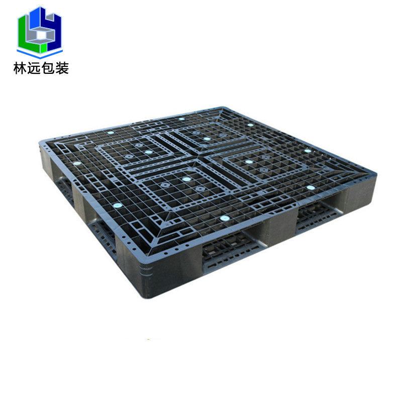 khay kê đồ pallet nhựa nâng cấp Tianzi màu đen 1100 * 11