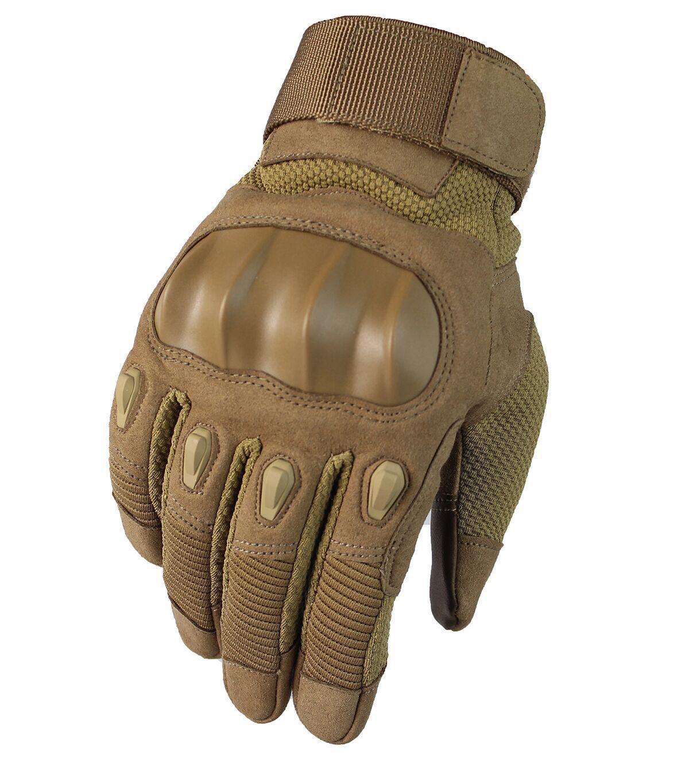 HANXUAN Găng tay bảo hộ Mới chống trượt ngoài trời bảo vệ đi xe máy găng tay leo núi thể dục đào tạo