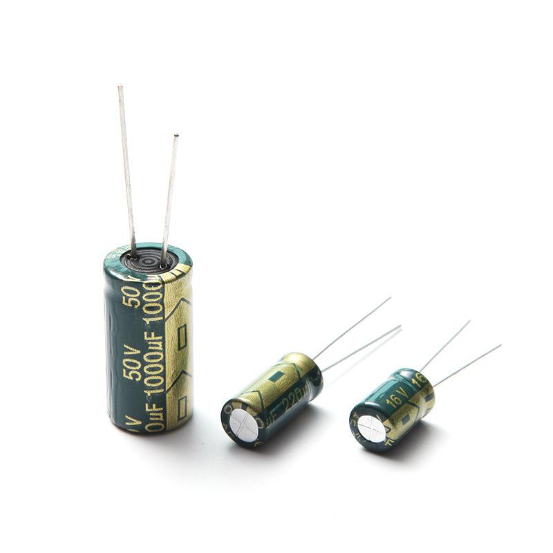 Tụ điện 6 * 7-35V100UF nhôm điện trở cao tần số thấp tụ điện chuyển đổi nguồn cung cấp điện thoại di
