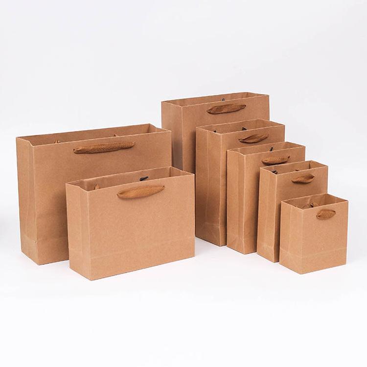 Thị trường bao bì khác / bao bì vải / bao bì giấy Trống giấy kraft túi bảo vệ môi trường quần áo quả