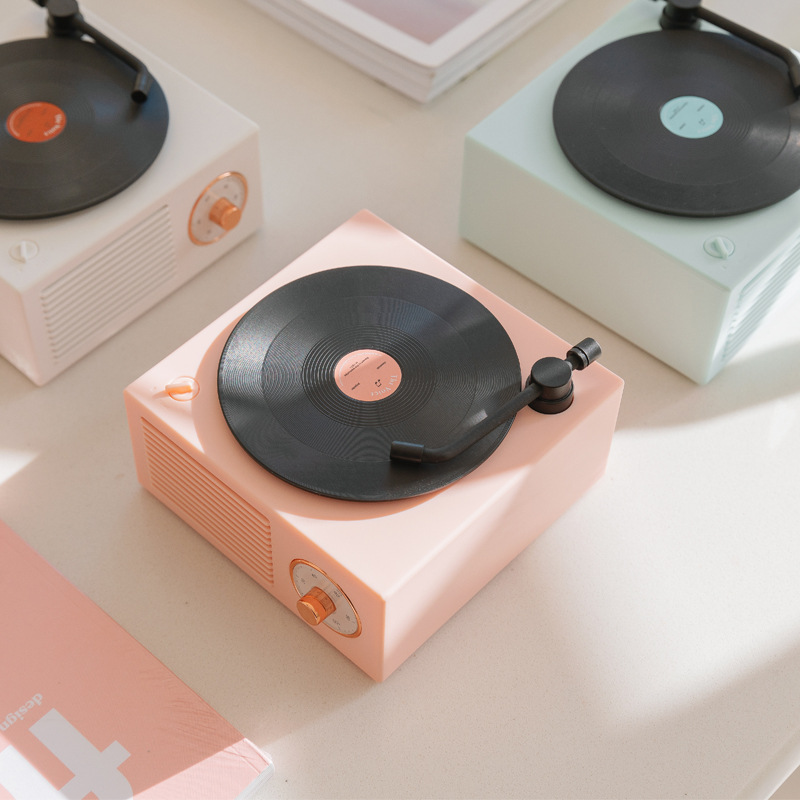 Loa vinyl sáng tạo Bluetooth .